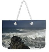 Stormy Day At Sunset Bay Weekender Tote Bag