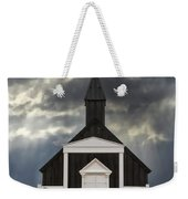 Stormy Day At The Black Church Weekender Tote Bag