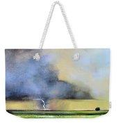 Stormy Field Weekender Tote Bag