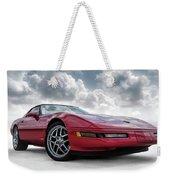 Stormy Forecast Weekender Tote Bag