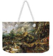 Stormy Landscape -  1625 Peter Paul Rubens Weekender Tote Bag