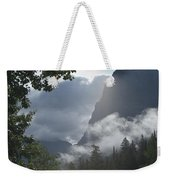Stormy Morning In Glacier Weekender Tote Bag