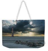 Stormy Morris Island Weekender Tote Bag