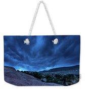 Stormy Night Sky Arches National Park - Utah Weekender Tote Bag