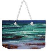 Stormy Ocean Weekender Tote Bag
