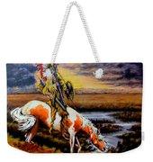 Stormy Prairie Weekender Tote Bag