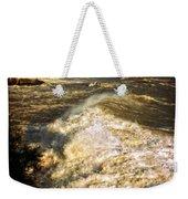 Stormy Sea Weekender Tote Bag