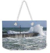 Stormy Seas Weekender Tote Bag