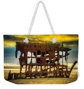 Stormy Shipwreck Weekender Tote Bag