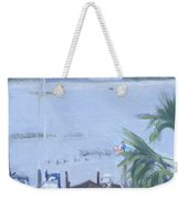 Stormy Skull Creek Weekender Tote Bag