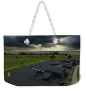 Stormy Sky Over Fort Moultrie Weekender Tote Bag