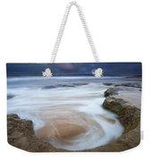 Stormy Sunrise Weekender Tote Bag