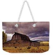 Stormy Sunset At Moulton Barn Weekender Tote Bag