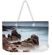 Stormy Sunset Beach Weekender Tote Bag