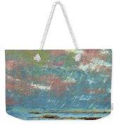 Stormy Coastal Sunset Weekender Tote Bag