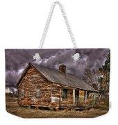 Stormy Times Tenant House Greene County Georgia Art Weekender Tote Bag