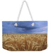Stormy Wheat Field Weekender Tote Bag