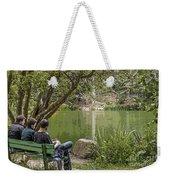 Stow Lake Weekender Tote Bag by Kate Brown
