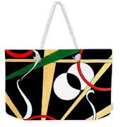Straights And Rounds.2 Weekender Tote Bag