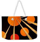 Straights And Rounds.3 Weekender Tote Bag