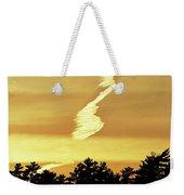 Strange Clouds At Sunset I Weekender Tote Bag