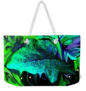 Strange Green World Weekender Tote Bag