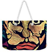 Strange Man Color Weekender Tote Bag