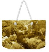 Strange Rock Formations At El Torcal Near Antequera Spain Weekender Tote Bag