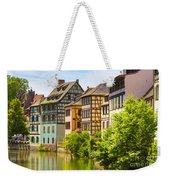 Strasbourg, Half-tmbered Houses, Petite France, Alsace, France  Weekender Tote Bag