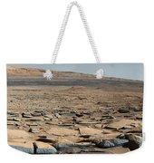 Stratified Rock On Mars Weekender Tote Bag