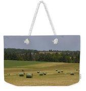 Straw Dries In A Farmers Field Weekender Tote Bag