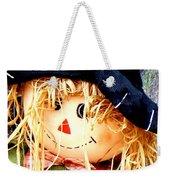 Straw Girl Weekender Tote Bag