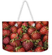 Strawberries -2 Contemporary Oil Painting Weekender Tote Bag