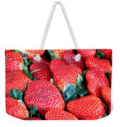 Strawberries 8 X 10 Weekender Tote Bag