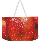 Strawberries Weekender Tote Bag