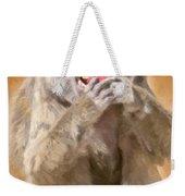 Strawberry Baboon Weekender Tote Bag