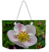 Strawberry Blossom Weekender Tote Bag