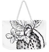 Strawberry Dreams Weekender Tote Bag