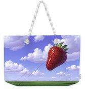 Strawberry Field Weekender Tote Bag