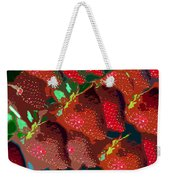 Strawberry Fields Forever Weekender Tote Bag
