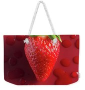 Strawberry Fresh One Weekender Tote Bag