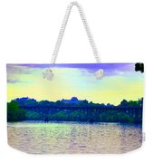 Strawberry Mansion Bridge Across The Schuylkill River Weekender Tote Bag