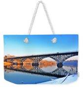 Strawberry Mansion Bridge  Weekender Tote Bag