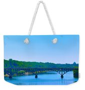 Strawberry Mansion Bridge From Laurel Hill Weekender Tote Bag