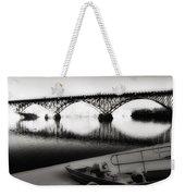 Strawberry Mansion Bridge In Winter Weekender Tote Bag