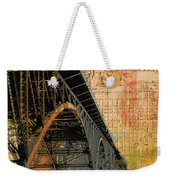 Strawberry Mansion Bridge Philadelphia Pa Weekender Tote Bag