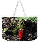 Strawberry Plant Weekender Tote Bag