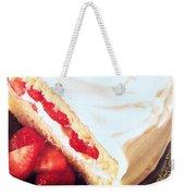 Strawberry Short Cake  Weekender Tote Bag