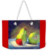 Strawberry Steals The Show Weekender Tote Bag