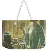 Strawberry Tea Set, 1912 Weekender Tote Bag